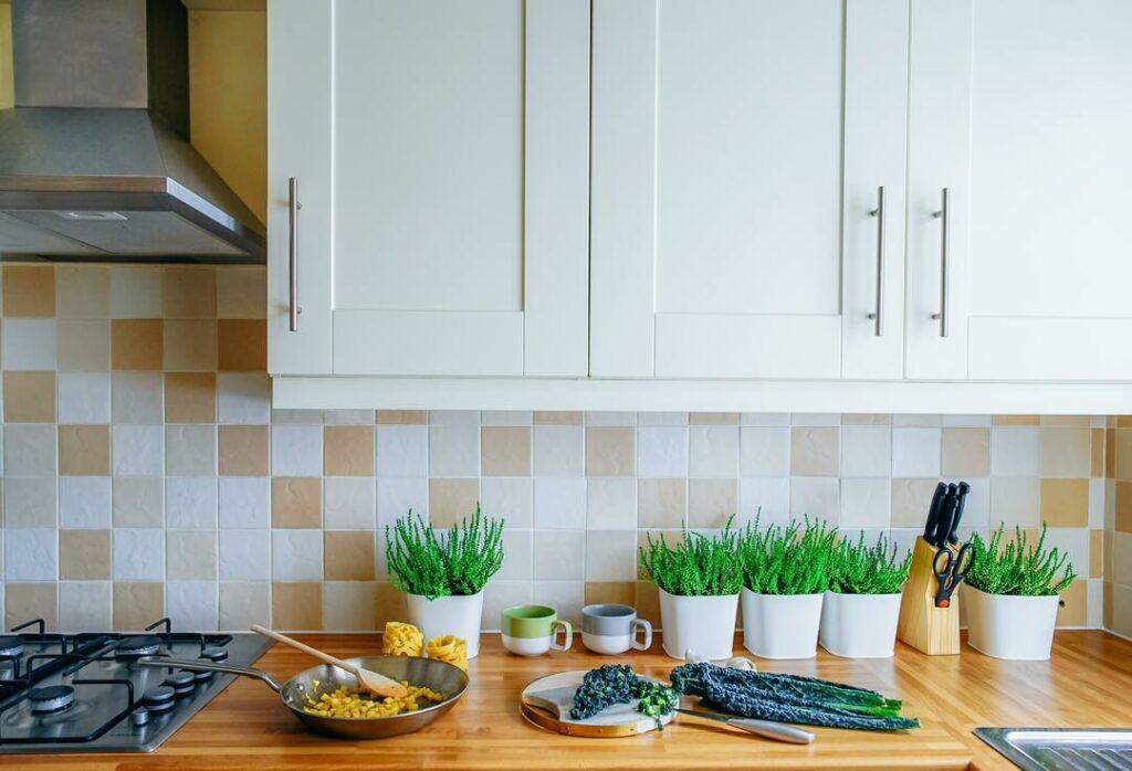 Küche Fliesen Rückwand