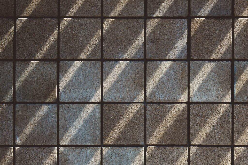 traditionelle kleine Fliesen Muster